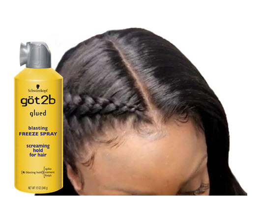 Got2B Glued Blasting Freeze Spray for Lace Wigs – CRISSY MACK